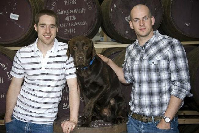 BrewDog founders Martin Dickie (left), Bracken (center) & James Watt (credit: BrewDog)