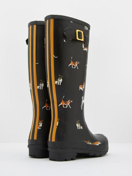 Joules Printed Rain Boots: Dogs